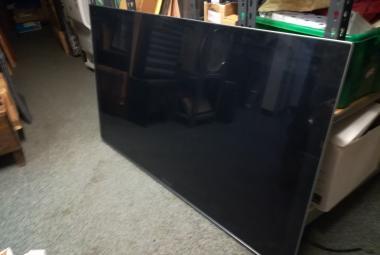 used panasonic tx-p55vt30b tv newbury