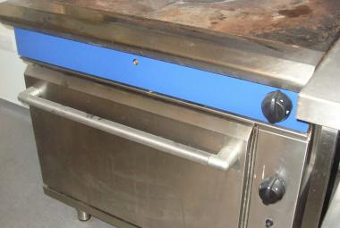 Blue Seal solid top oven used reading newbury berkshire