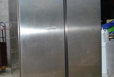 used zanussi 2 door stainless steel freezer newbury reading berkshire