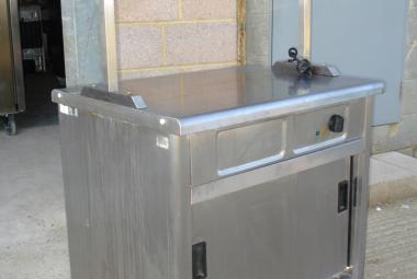 used hot cupboard with heated pass newbury reading berkshire