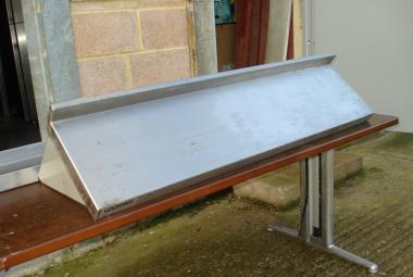 used 1.2m stainless steel shelf reading berkshire