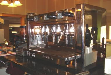 used brasilia 3 head espresso machine berkshire surrey