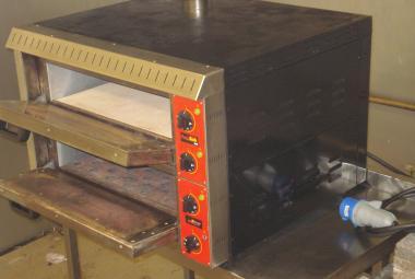used black rock roxy twin pizza oven newbury berkshire
