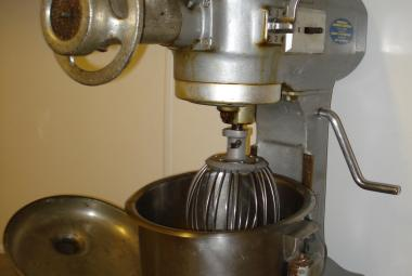 used hobart a120 mixer with attachments newbury berks