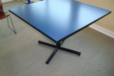 blue canteen staff room  table 4 seater reading newbury berkshire