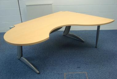 steelcase exec desk with meeting end TNT reading newbury berkshire