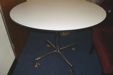 logik meeting table white 3 seater reading newbury berkshire