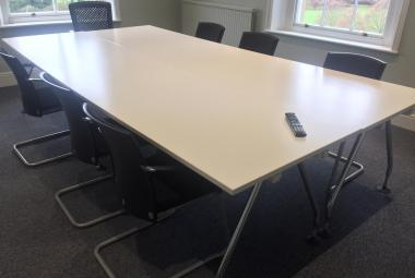 vitra meeting table large workstation white newbury berks