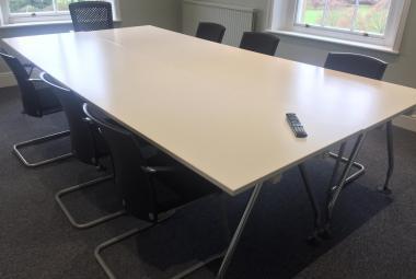vitra meeting table large workstation white newbury berks