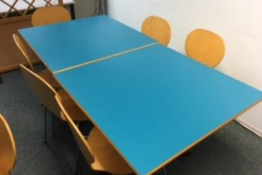 turquoise canteen table 4 seater newbury reading basingstoke office staff room
