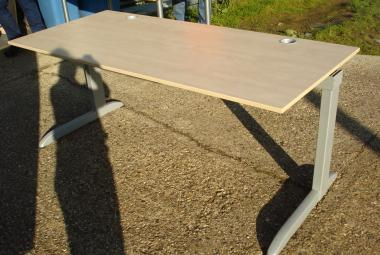 techo 1.8m maple desk beam system newbury reading berkshire