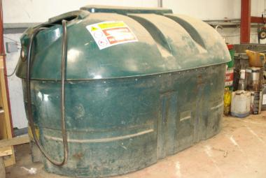 balmoral hb2500 bunded fuel tank with pump chertsey