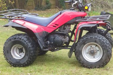 quad bike estate transport berkshire