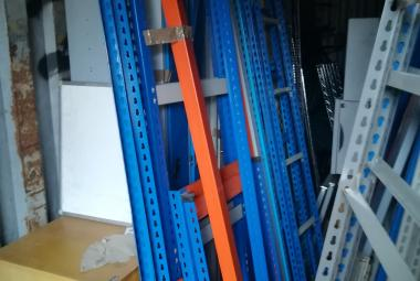 used rivetier racking  archive storage berkshire