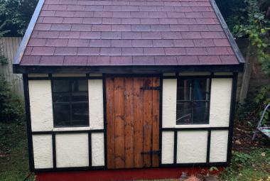 used tudor style wooden playhouse reading berks