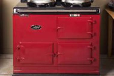 red aga home kitchen country house berkshire