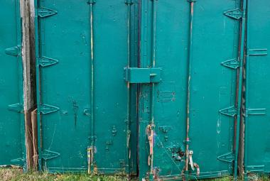 used shipping storage container 20ft hampshire