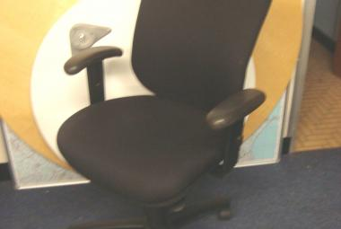High Back Operator Chair with Height Adj Arms