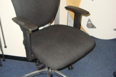 High Back Operator Chair with Height Adustable Arms