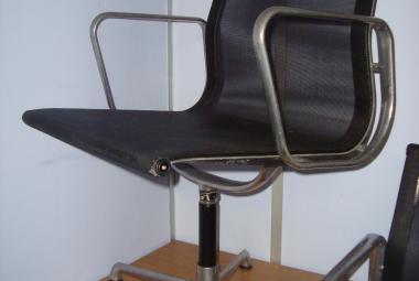 ICF Eames Medium Back Swivel Chair with Arms