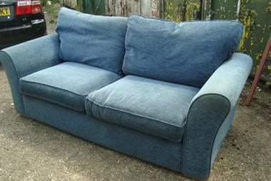 Two Seater Sofa, break out area, used