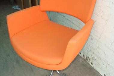 korus reception chair orange reading newbury berkshire
