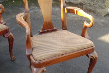 dark wood traditional dining chair newbury reading berks