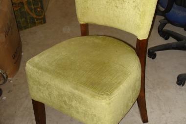 light green armless dining chair pub restaurant newbury reading oxford