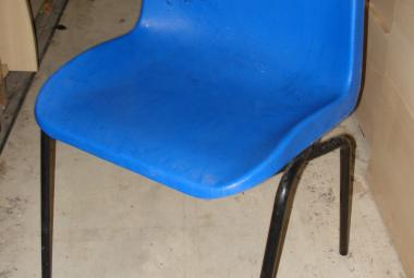 stackable polyprop school chair blue newbury reading berkshire