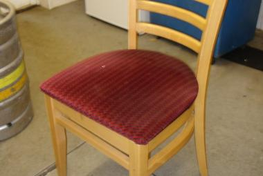 used natural beech dining chair home staff room cafe surrey