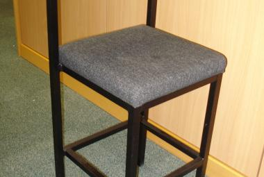 used office stool charcoal newbury berks