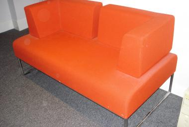allermuir psm204 designer sofa orange newbury berkshire