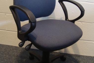 Used High Back Operator Chair