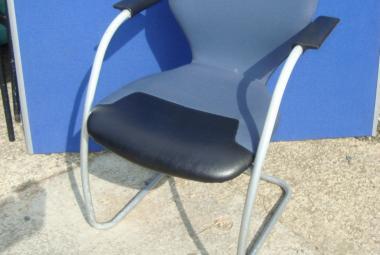 orangebox sleigh base visitor chair