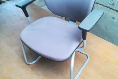 orangebox joy  cantilever meeting chair with arms grey newbury berks