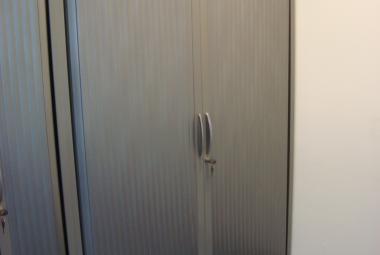 steelcase side opening tambour cupboard newbury berkshire