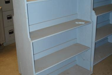 half height welsh dresser oxford blue shabby chic