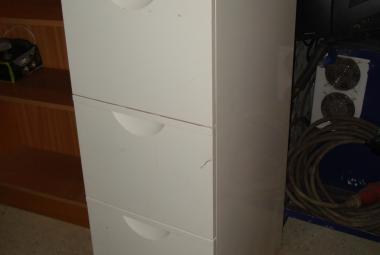 a4 white metal filing cabinet newbury berkshire