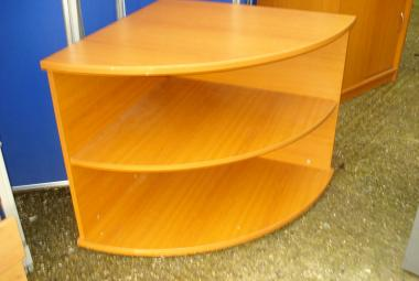 used desk height corner bookcase cherry newbury berkshire