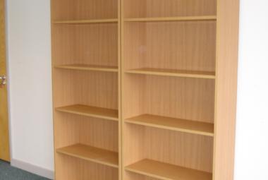 used bookcase 4 shelves oak newbury reading berks