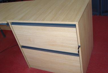 limed oak lateral filing  cabinet