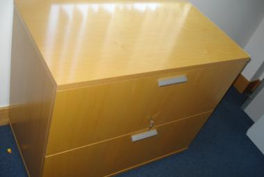 maple veneer lateral filing cabinet exec
