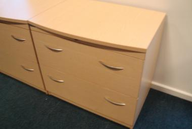bow front lateral filing cabinet 2 drawer