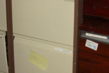Bisley Five Drawer Filing Cabinet
