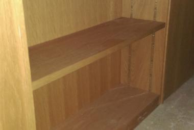 Low Bookcase Veneer 1 Shelf  berkshire hampshire