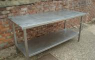 1.8m stainless steel preparation table reading newbury berkshire