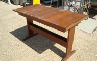 dining table dark wood reading newbury berkshire