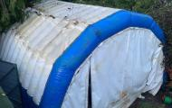 inflatable building temporary storage reading berks